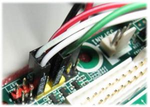 Как включить аудио на передней панели